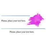 Rosa färger för affärskort Arkivfoton