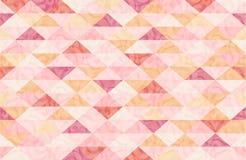 Rose Quatz Marble Triangle Pattern Image stock