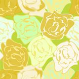 Roses repetition Stock Photography
