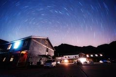 Rotating stars Stock Photo
