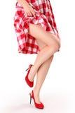 Rotes Kleid Stockfotos