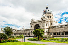 Royal Exhibition Building Stock Photography