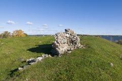 Ruin Alsnohus Hovgarden Stock Image