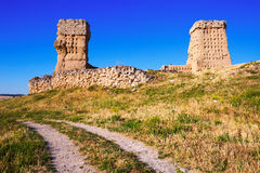 Ruined  castle of Palenzuela Stock Photography