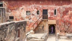 Ruins of the historical Fort Jesus Mombasa, Kenya Royalty Free Stock Photo