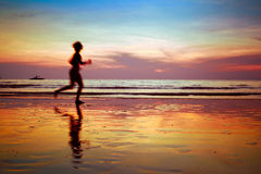 Run to purpose Royalty Free Stock Images