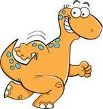 Running dinosaur Royalty Free Stock Images