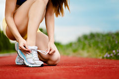 Running shoes Royalty Free Stock Photography
