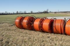 Rural Fiber Optic Royalty Free Stock Images