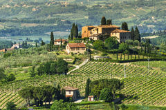 Tuscany rural landscape Royalty Free Stock Images
