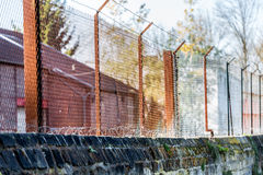 Rust barrier Stock Photography