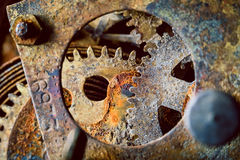 Rusty gears Stock Photos
