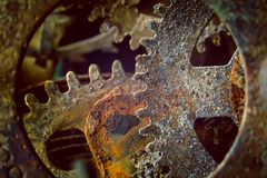 Rusty gears Royalty Free Stock Photography
