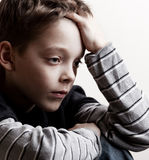 Sad boy Stock Photos