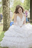 The sad bride Royalty Free Stock Photo
