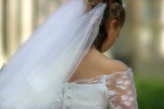 The sad bride Royalty Free Stock Photography