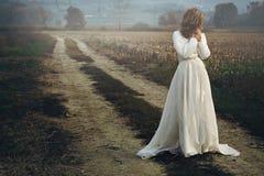 Sad bride Royalty Free Stock Images