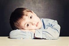 Sad Child Boy Royalty Free Stock Images