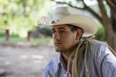 Sad cowboy Royalty Free Stock Photography
