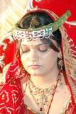 Sad Indian Bride. Royalty Free Stock Photography