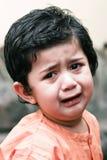 Sad little boy Royalty Free Stock Photos
