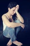Sad woman Stock Images