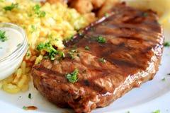 saftig steak Royaltyfri Foto