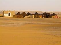 Sahara - migratory habitation Royalty Free Stock Photography