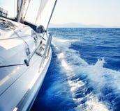 Sailing. Yachting. Luxury Lifestyle Royalty Free Stock Images