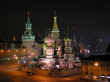 Saint Basil's cathedral Royalty Free Stock Photo