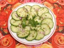 Salade van komkommer Royalty-vrije Stock Fotografie