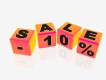 Sale -10% Royalty Free Stock Photos