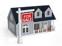 Sale of house Stock Photos