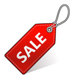 Sale shopping tag Royalty Free Stock Photos