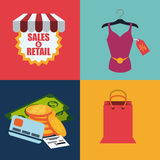 Sales and retail Stock Photography