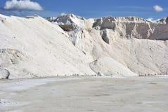 Salt industry Stock Photos