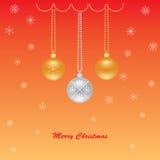 Saluto di Buon Natale Fotografia Stock Libera da Diritti