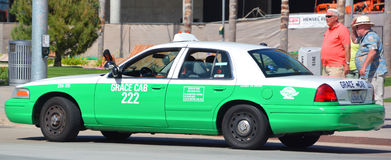 San Diego-Taxi Lizenzfreies Stockfoto