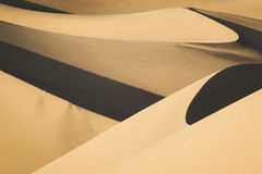 Sand Dunes Death Valley National Park Royalty Free Stock Photos
