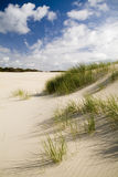 Sand Dunes and Sky Stock Photography