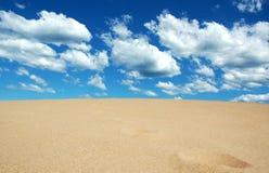 Sand meets Sky Stock Photos