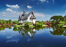 Sanphet Prasat Palace, Thailand Royalty Free Stock Photography