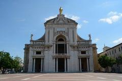Santa Maria degli Angeli in Assisi Stock Photography