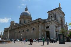 Santa Maria degli Angeli in Assisi Stock Photo