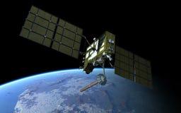 Satélite moderno del GPS Imágenes de archivo libres de regalías
