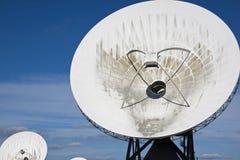 Satellite communications, Burum, Holland Royalty Free Stock Images