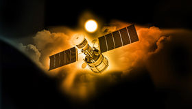 Satellite communications Royalty Free Stock Images