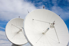 Satellites at National Radio Astronomy Observatory Stock Images