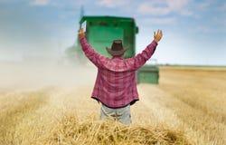 Satisfied farmer Stock Photos