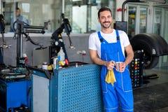 Satisfied male engineer Royalty Free Stock Photo